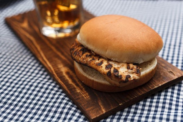 Flame-Broiled Chicken Sandwich
