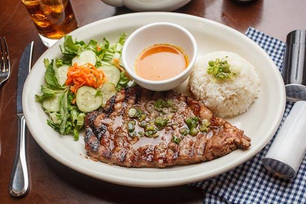 23. Vietnamese Combination Broken Rice (Com Suon Bi Op La)