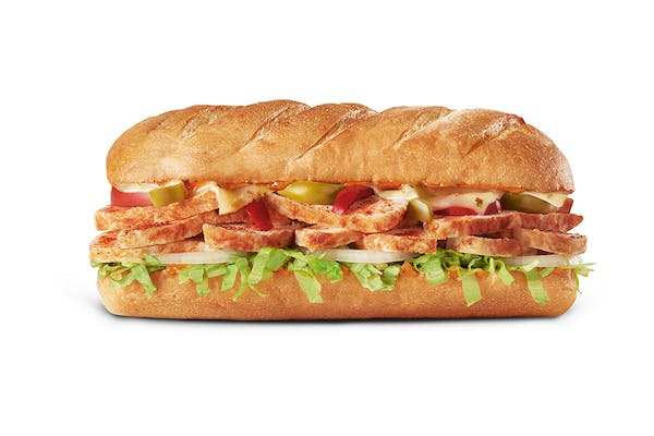 LTO Spicy Cajun Chicken Sub
