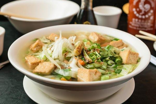 V4. Noodle Soup with Vegetables & Tofu