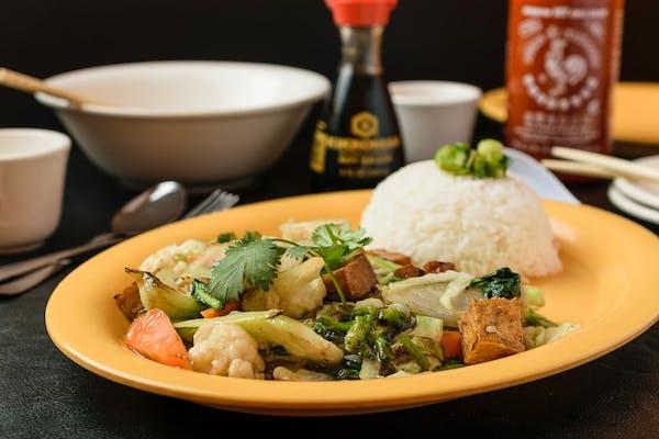 V7. Stir-Fried Vegetables & Tofu
