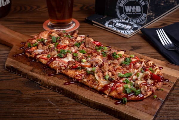 Chipotle BBQ Chicken Flatbread