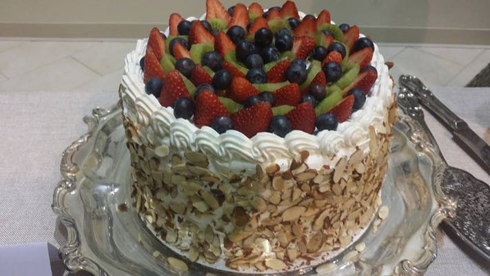 Fruit & Almond Cake