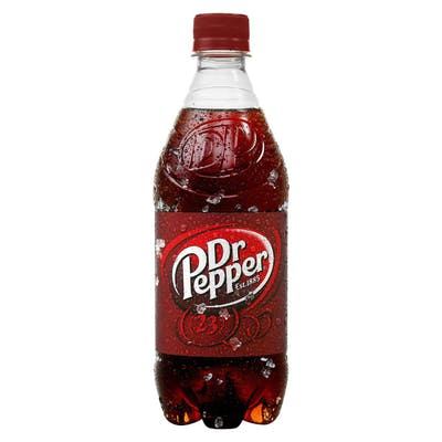 Bottled Dr Pepper