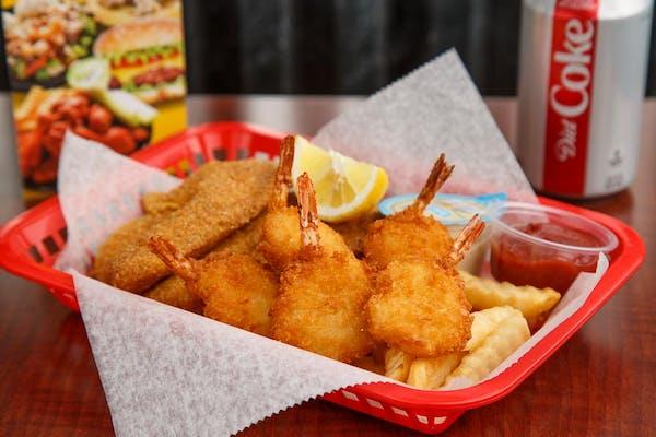 Catfish & Shrimp
