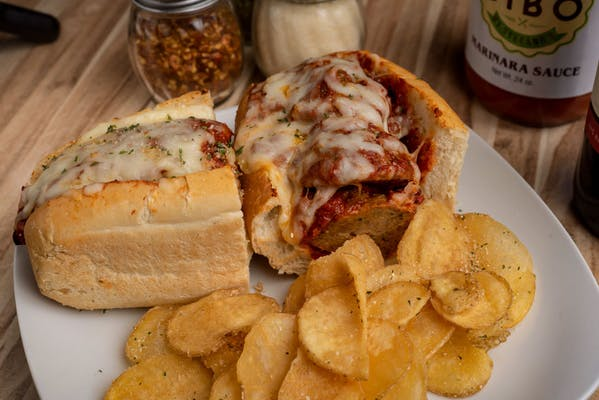 Meatball Parmesan Hot Sub