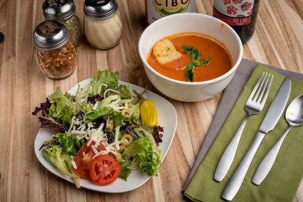 Soup & House Salad