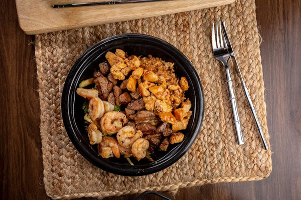 Steak, Shrimp & Chicken
