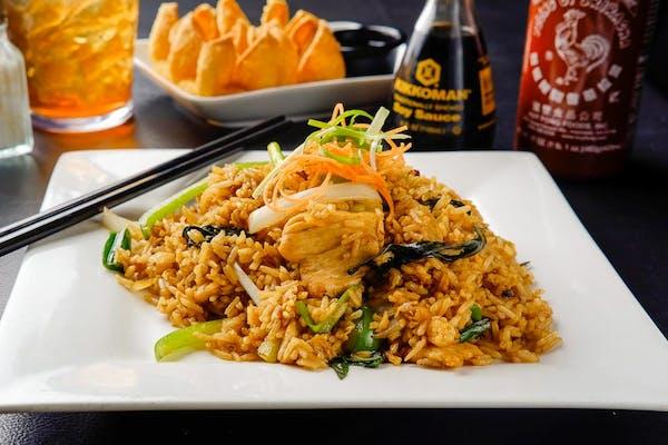 F2. Basil Fried Rice (Dinner)