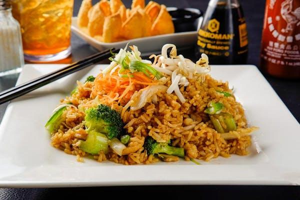 F4. Vegetable Fried Rice (Dinner)