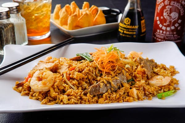 F5. Combination Fried Rice (Dinner)