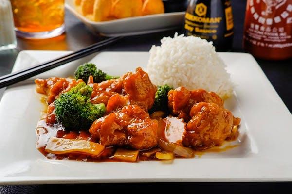E10. Empress Chicken (Dinner)