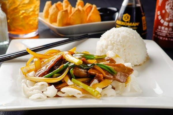 E11. Mongolian Beef (Dinner)