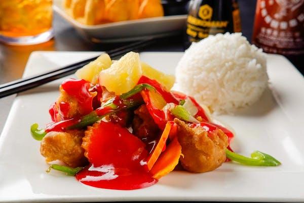 E12. Sweet & Sour Chicken (Dinner)