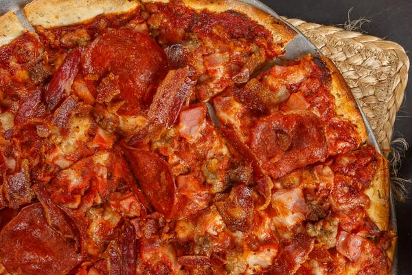 Meat O' Meat Pizza
