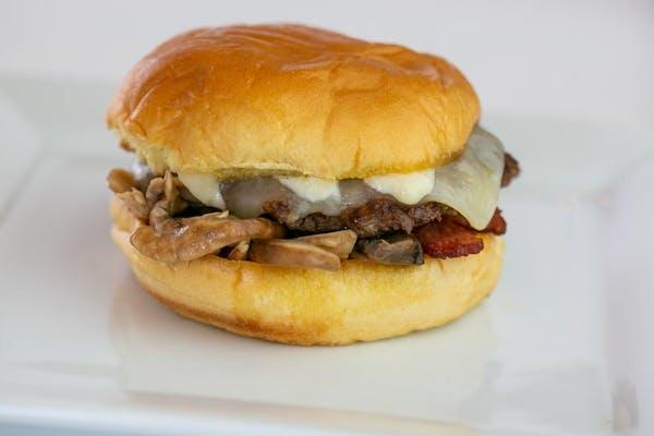 Mr. Fungi Burger