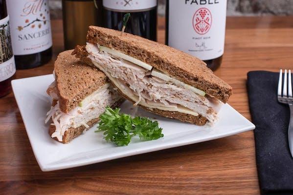 Turkey, Apple & Cheddar Sandwich