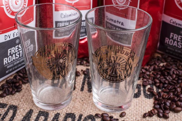 Collectible Flotown Cold Brew Glass