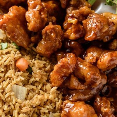General Tso's Chicken House Dinner