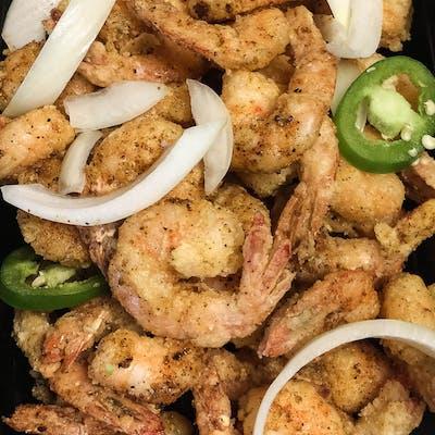 Salt & Pepper Shrimp House Dinner