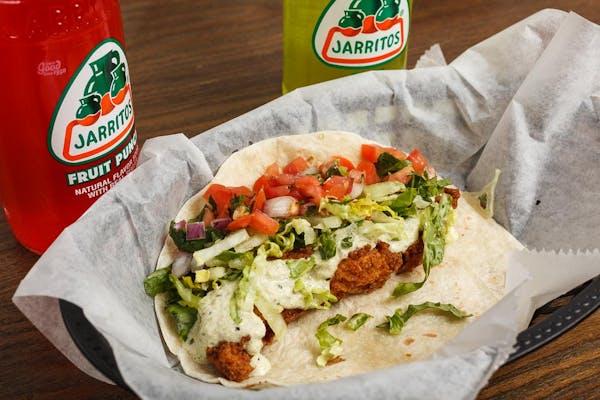 Southern Fried Taco