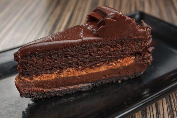 Fudge-Filled Chocolate Cake