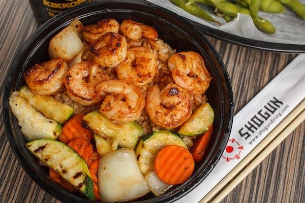 Teppan Shrimp Bowl