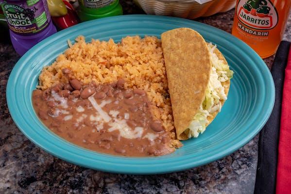 1. Taco, Rice & Beans