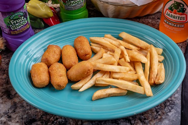 8. Corn Dog Nuggets & French Fries