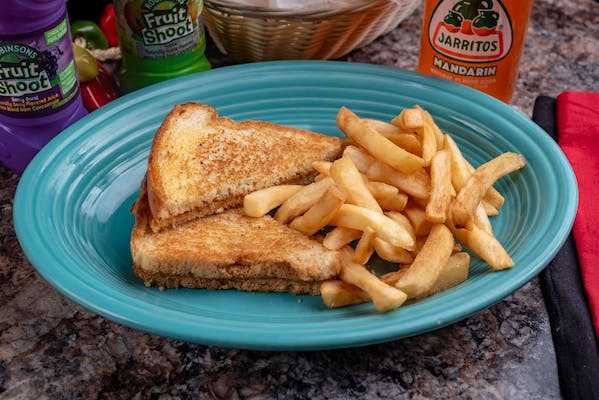 12. Grilled Cheese & French Fries