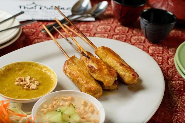 A3. Chicken Satay