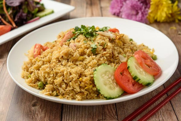 Blue Crab Fried Rice