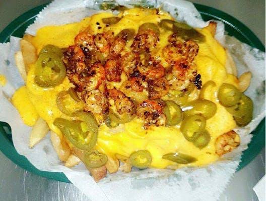 Nacho Crawfish Fries