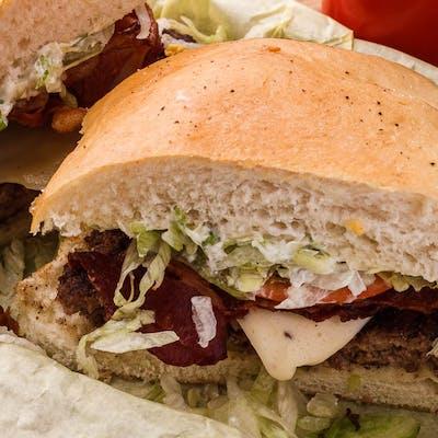 Bacon Pepperjack Burger
