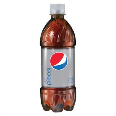 (20 oz.) Bottled Diet Pepsi