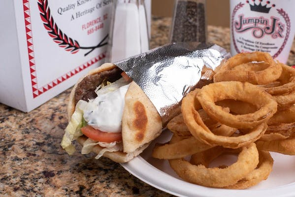 Gyro & Fries