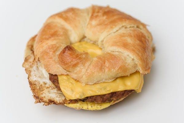 Sausage, Egg & Cheese Ciabatta