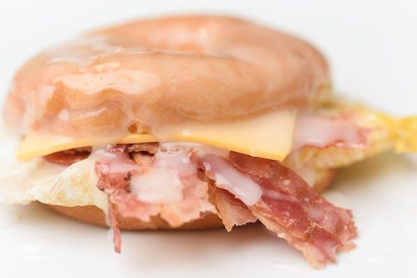 Bacon, Egg & Cheese Donut
