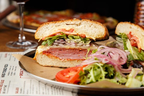Hot Sicilian Sandwich