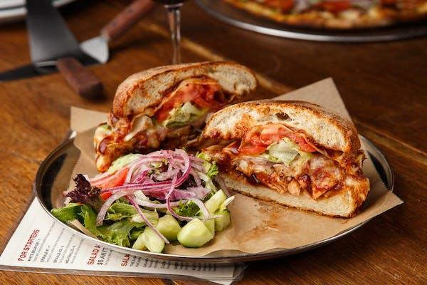 BBQ Chicken or Tempeh Sandwich
