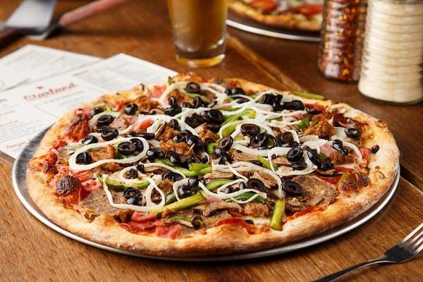 Hungry Sasquatch Pizza