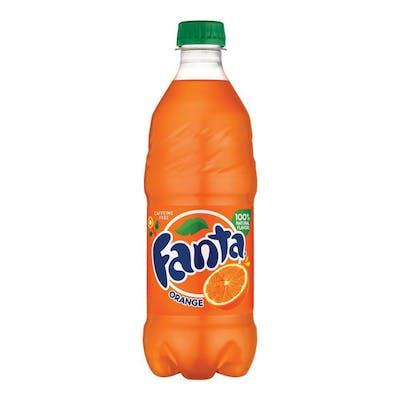 (12 oz.) Orange Fanta Bottle