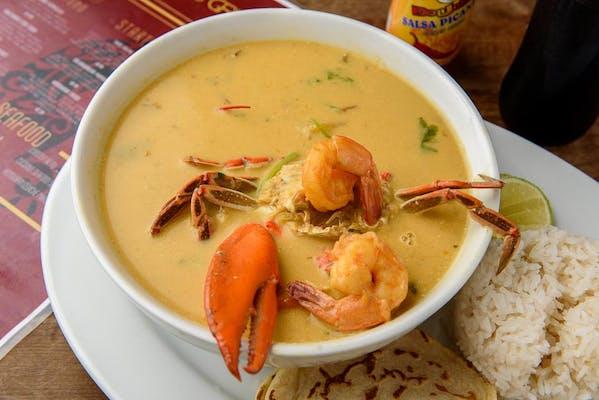 (16 oz.) Coconut Seafood Soup