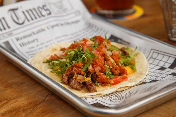 (1) Beef Taco