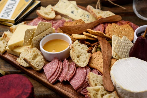 Artisan Cheese & Charcuterie Board