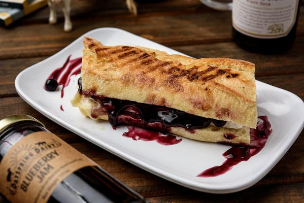 Blueberry Brie Toasty