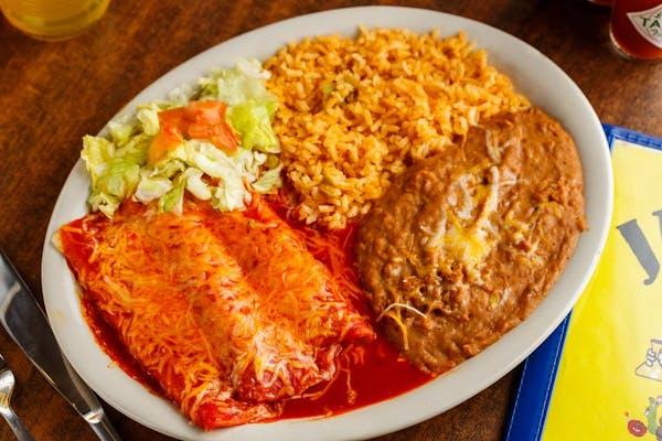 Cheese Enchiladas Special