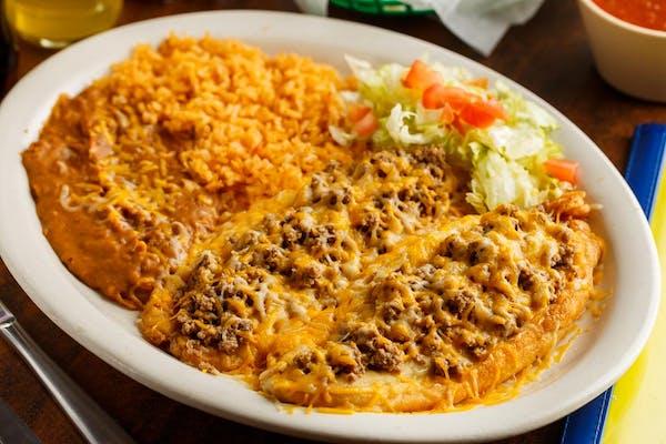 Chile Relleno Plate Special