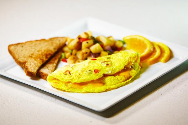 Tailor-Made Three-Egg Omelet