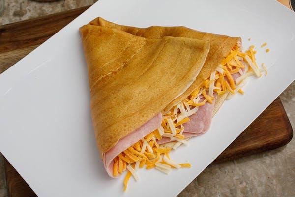 Ham & Cheese Crêpe